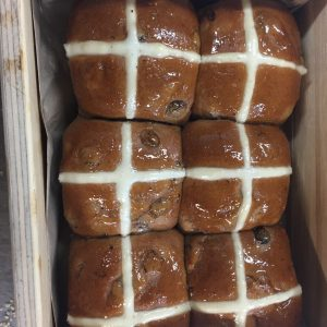 Packet of 6 Hot Cross Buns